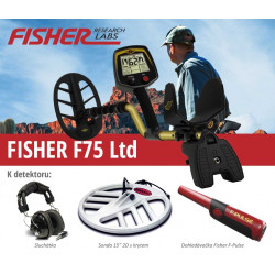 Detektor kovů Fisher F75 LTD V2.0