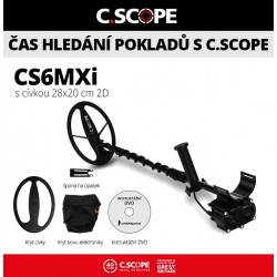 Detektor kovů C.Scope CS6MXi