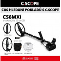 Detektor kovů C.Scope CS6MXi hloubkový set